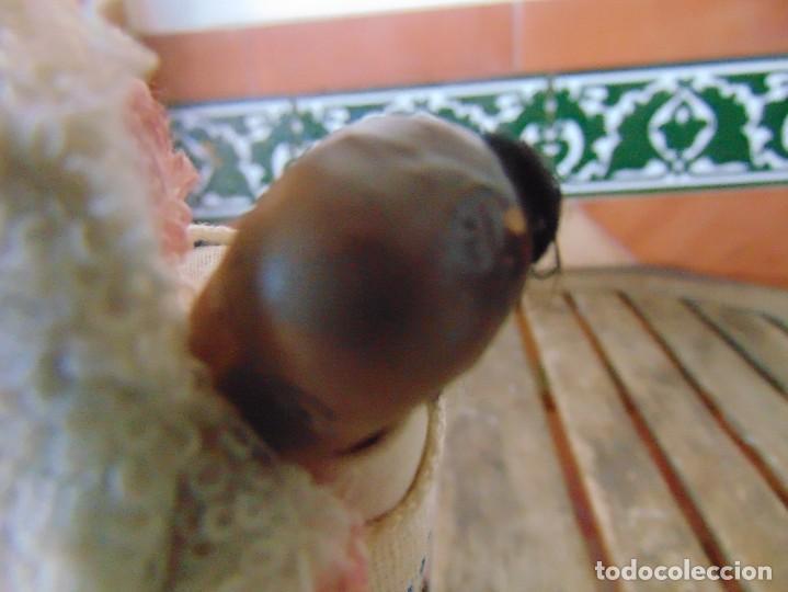 Muñeca española clasica: PAREJA DE MUÑECOS CON NIÑO A LA ESPALDA EN ESTUCO ,ALAMBRE Y TRAPO ,PINTADOS AL OLEO INDIOS ?? - Foto 8 - 279446698