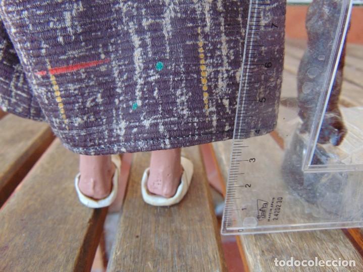 Muñeca española clasica: PAREJA DE MUÑECOS CON NIÑO A LA ESPALDA EN ESTUCO ,ALAMBRE Y TRAPO ,PINTADOS AL OLEO INDIOS ?? - Foto 16 - 279446698
