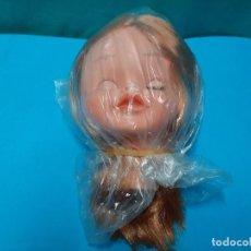 Muñeca española clasica: CABEZA DE MUÑECA, NUEVA A ESTRENAR, SIMIL A NANCY,. Lote 279481148