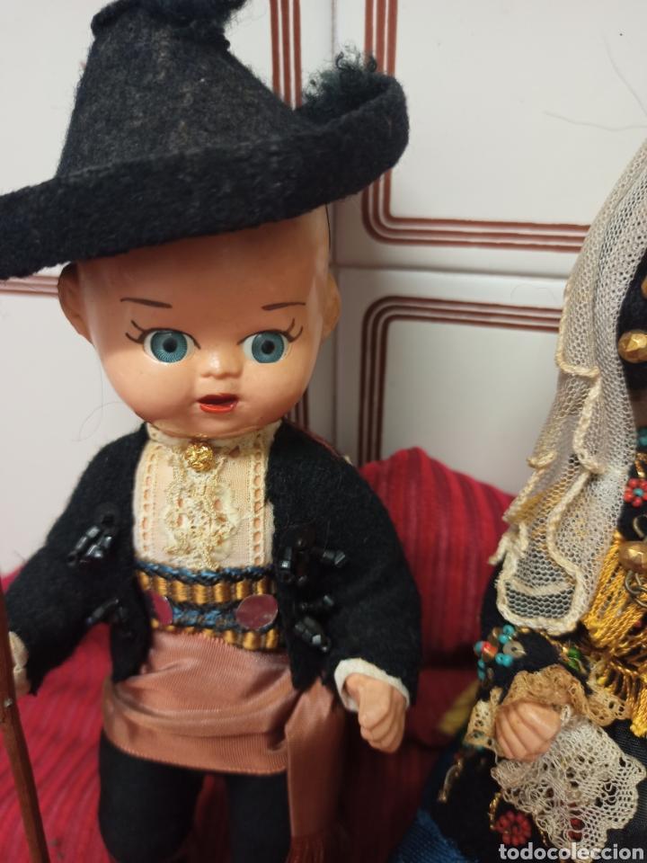 Muñeca española clasica: Preciosos muñecos charros antiguos - Foto 2 - 280632708