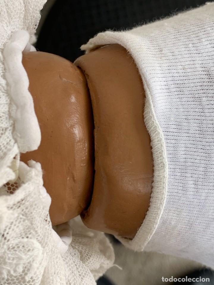 Muñeca española clasica: MUÑECA CELULOIDE OJOS DURMIENTES TIPO CAYETANA DIANA AÑOS 50-60 45X15X10CMS - Foto 23 - 287316283