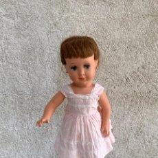 Muñeca española clasica: MUÑECA TIPO CAYETANA DIANA OJOS DURMIENTES CELULOIDE 45X15X9CMS. Lote 287320703