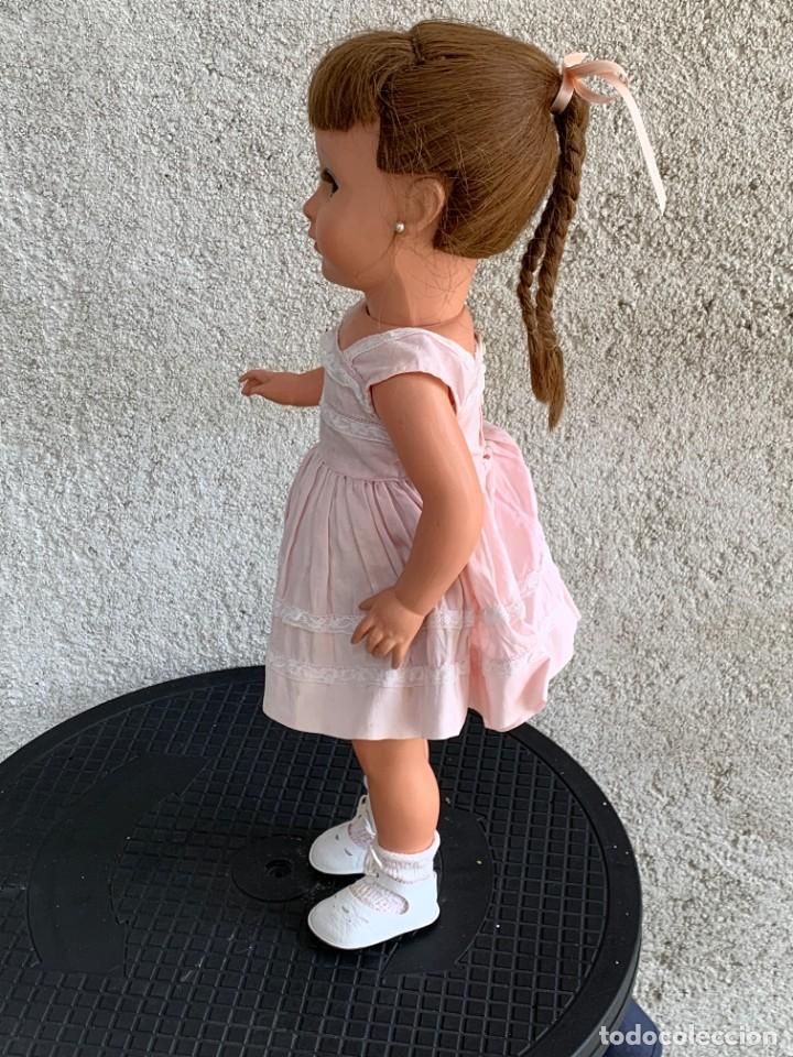 Muñeca española clasica: MUÑECA TIPO CAYETANA DIANA OJOS DURMIENTES CELULOIDE 45X15X9CMS - Foto 2 - 287320703
