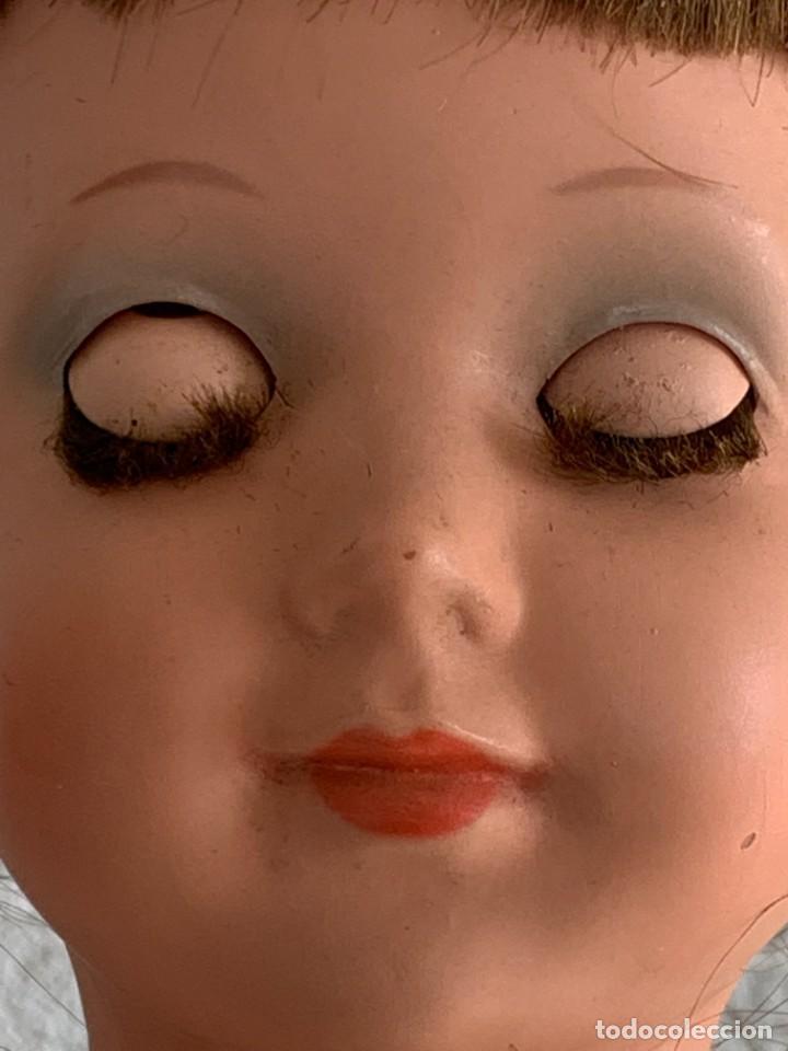 Muñeca española clasica: MUÑECA TIPO CAYETANA DIANA OJOS DURMIENTES CELULOIDE 45X15X9CMS - Foto 7 - 287320703
