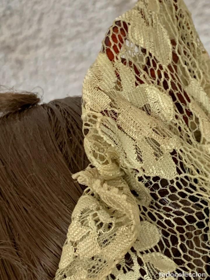 Muñeca española clasica: MUÑECA PORCELANA PINTADA MANO MARCA MENTA Y CANELA DE MARIN NOVIA ANDALUZA 51X23X10CMS - Foto 24 - 287655808