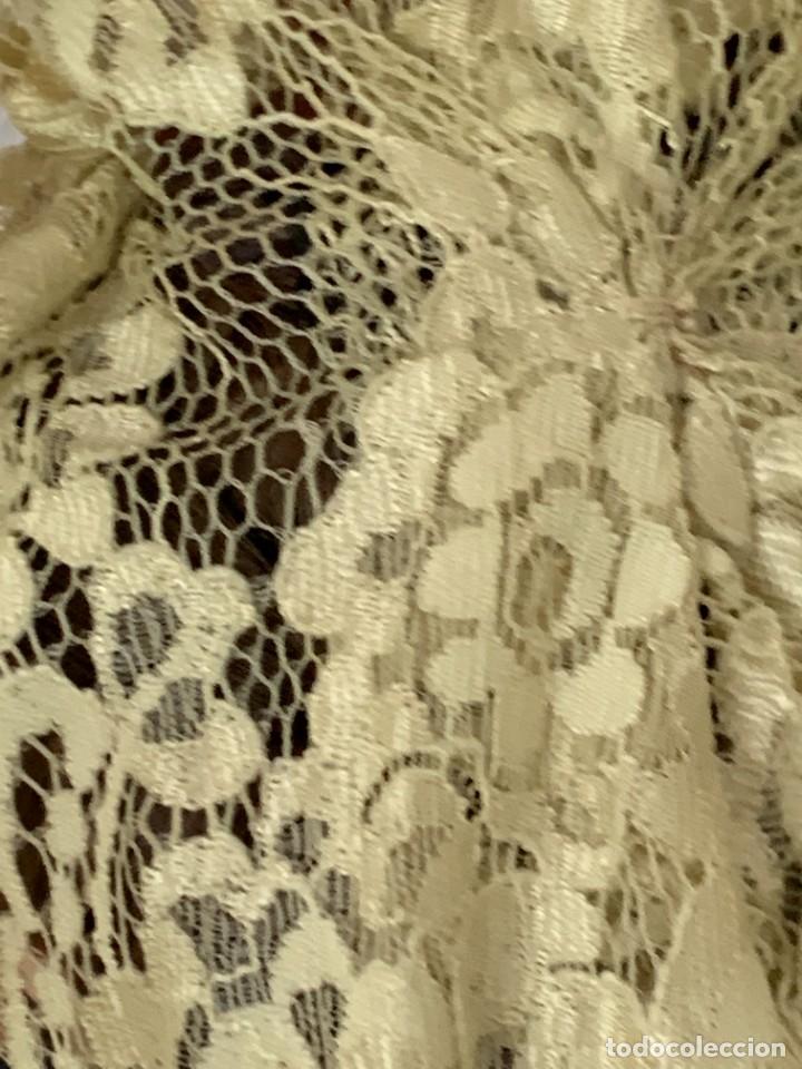 Muñeca española clasica: MUÑECA PORCELANA PINTADA MANO MARCA MENTA Y CANELA DE MARIN NOVIA ANDALUZA 51X23X10CMS - Foto 25 - 287655808