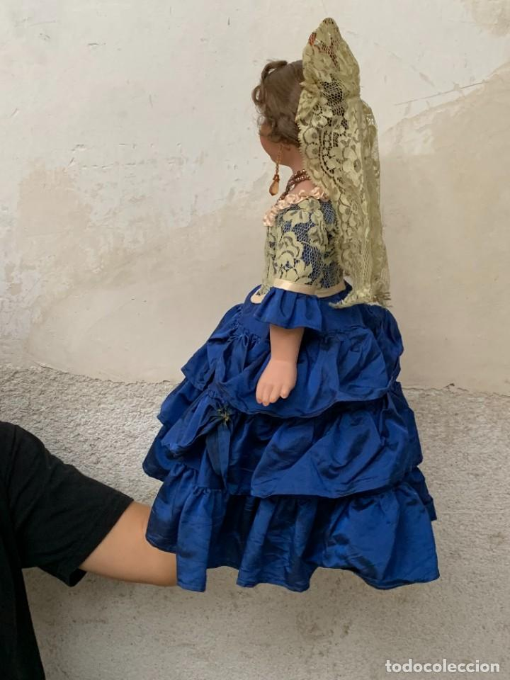 Muñeca española clasica: MUÑECA PORCELANA PINTADA MANO MARCA MENTA Y CANELA DE MARIN NOVIA ANDALUZA 51X23X10CMS - Foto 31 - 287655808