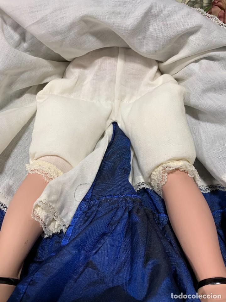 Muñeca española clasica: MUÑECA PORCELANA PINTADA MANO MARCA MENTA Y CANELA DE MARIN NOVIA ANDALUZA 51X23X10CMS - Foto 41 - 287655808