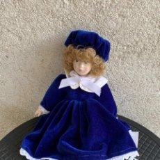 Muñeca española clasica: MUÑECA PORCELANA PAMPOX REF 7003804 PINTADA MANO 38X16X8CMS. Lote 287681218