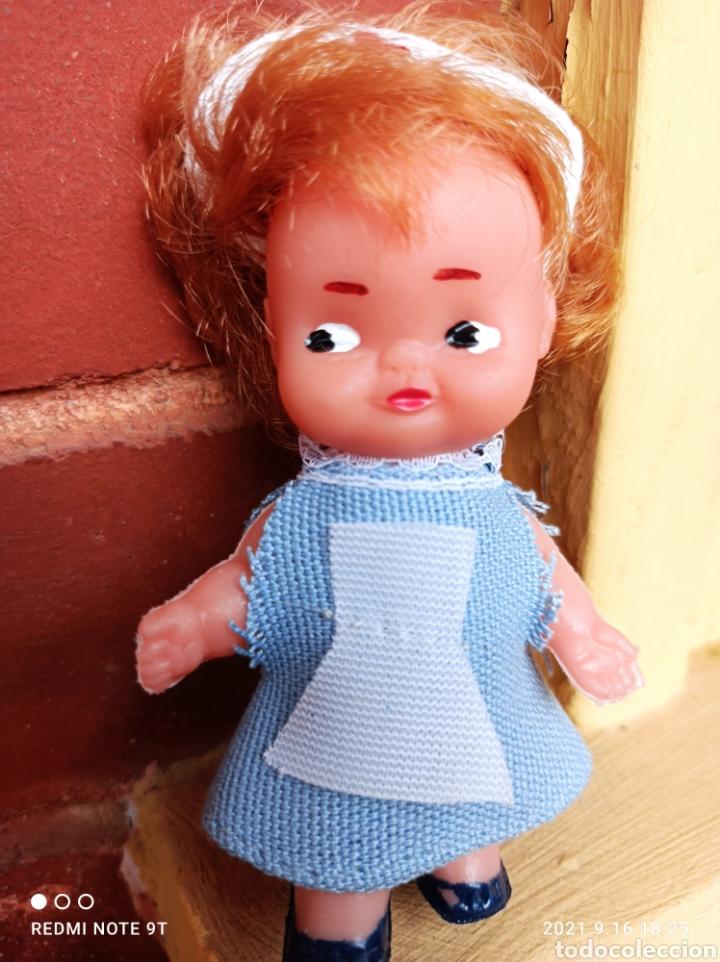 Muñeca española clasica: Muñeca enfermera años 60 pequeña tipo tin tan marcada silqui - Foto 2 - 287953628