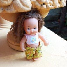 Muñeca española clasica: MUÑECA BARRIGUITAS ANTIGUA HIPIE MARCADA NUCA FAMOSA. Lote 287953708