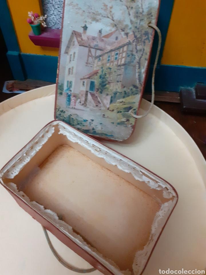 Muñeca española clasica: Caja maletita,propia para complemento de muñecas .Ver fotos y leer descripción. - Foto 5 - 288220838