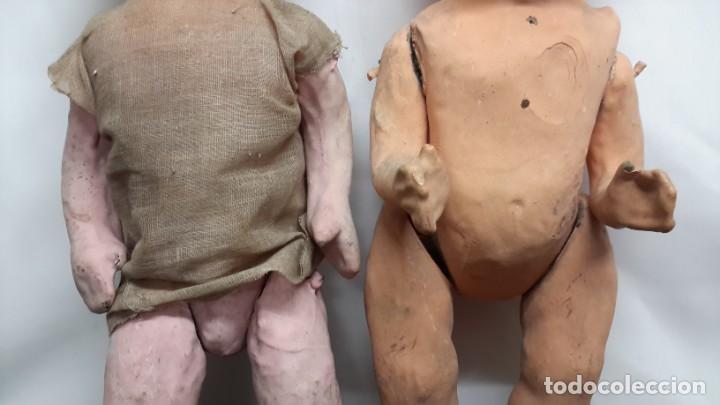 Muñeca española clasica: PAREJA DE MUÑECAS DE CARTON... PEPAS. - Foto 4 - 288563433