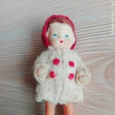 Muñeca española clasica: ANTIGUA MUÑECA MINIATURA ALEMANA ALEMANIA ALTURA 8,5 CM. Lote 45390688