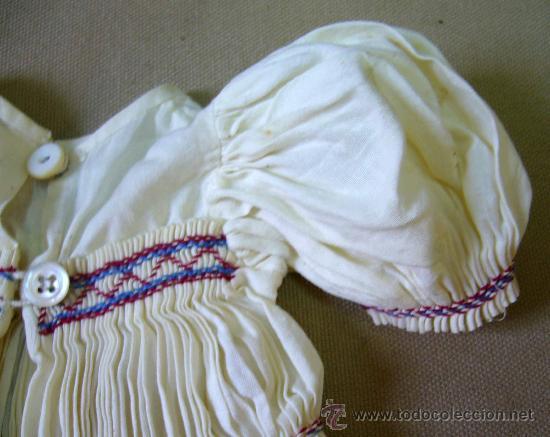 Muñeca Gisela: VESTIDO ORIGINAL, BORDADO, PANAL, COMPLEMENTO MUÑECA ESPAÑOLA, GISELA - Foto 8 - 31752289