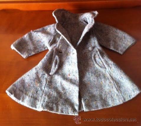 Muñeca Gisela: Abrigo original de muñeca LILI, a la moda de los años 50 , tambien sirve para Sofia , Viviana etc - Foto 3 - 54287777