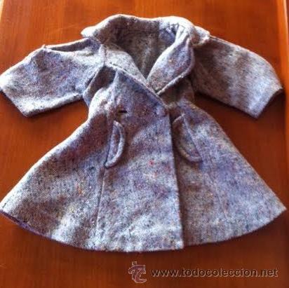 Muñeca Gisela: Abrigo original de muñeca LILI, a la moda de los años 50 , tambien sirve para Sofia , Viviana etc - Foto 6 - 54287777