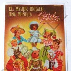 Muñeca Gisela: CATALOGO GISELA TODOS LOS PAISES-OFERTA ESPECIAL. Lote 80115458