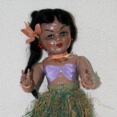 Muñeca Gisela: MUÑECA LILÍ (HERMANA DE GISELA). COMPOSICIÓN. OJOS DURMIENTES. ESPAÑA. AÑOS 50. Lote 86198176