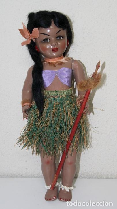 Muñeca Gisela: MUÑECA LILÍ (HERMANA DE GISELA). COMPOSICIÓN. OJOS DURMIENTES. ESPAÑA. AÑOS 50 - Foto 12 - 86198176