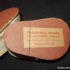 Muñeca Gisela: ZAPATOS DE GISELA,DE 1ª GENERACIÓN,INDUSTRIAS PRISMA,AÑOS 40. Lote 96351143