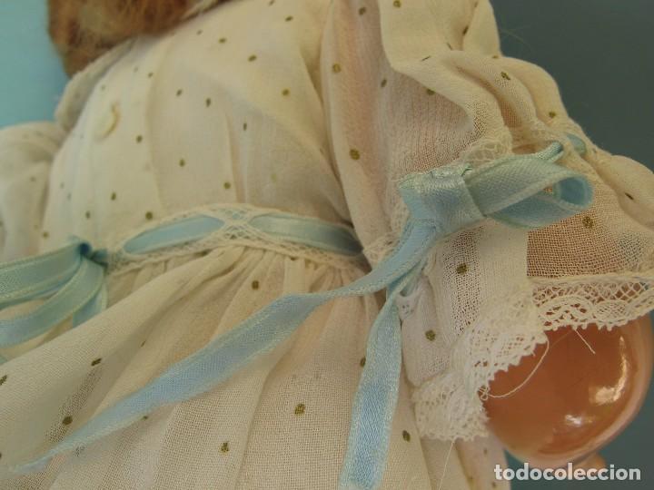 Muñeca Gisela: Muñeca Antigua Carton Piedra Gisela marcada en la nuca Ropa y Zapatos originales - Foto 10 - 142460774