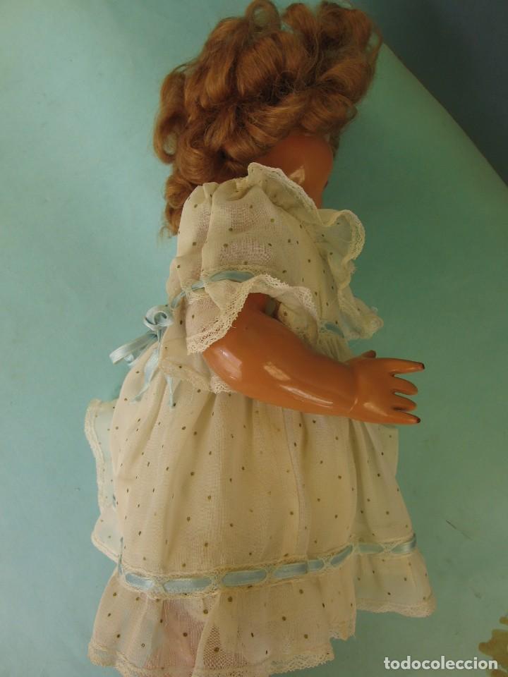 Muñeca Gisela: Muñeca Antigua Carton Piedra Gisela marcada en la nuca Ropa y Zapatos originales - Foto 11 - 142460774