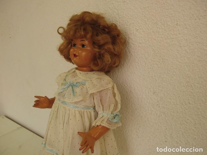 Muñeca Gisela: Muñeca Antigua Carton Piedra Gisela marcada en la nuca Ropa y Zapatos originales - Foto 12 - 142460774