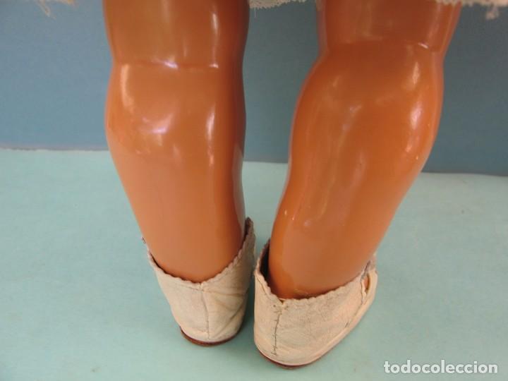 Muñeca Gisela: Muñeca Antigua Carton Piedra Gisela marcada en la nuca Ropa y Zapatos originales - Foto 18 - 142460774