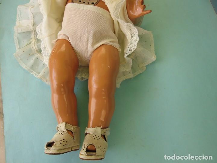 Muñeca Gisela: Muñeca Antigua Carton Piedra Gisela marcada en la nuca Ropa y Zapatos originales - Foto 19 - 142460774