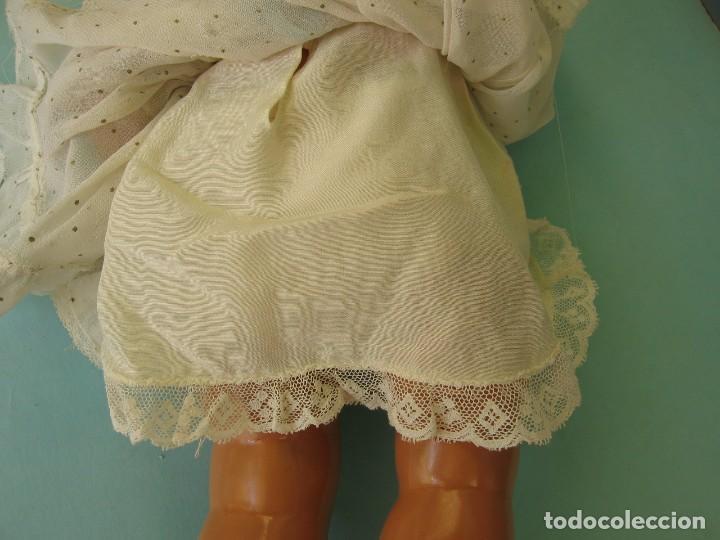 Muñeca Gisela: Muñeca Antigua Carton Piedra Gisela marcada en la nuca Ropa y Zapatos originales - Foto 20 - 142460774