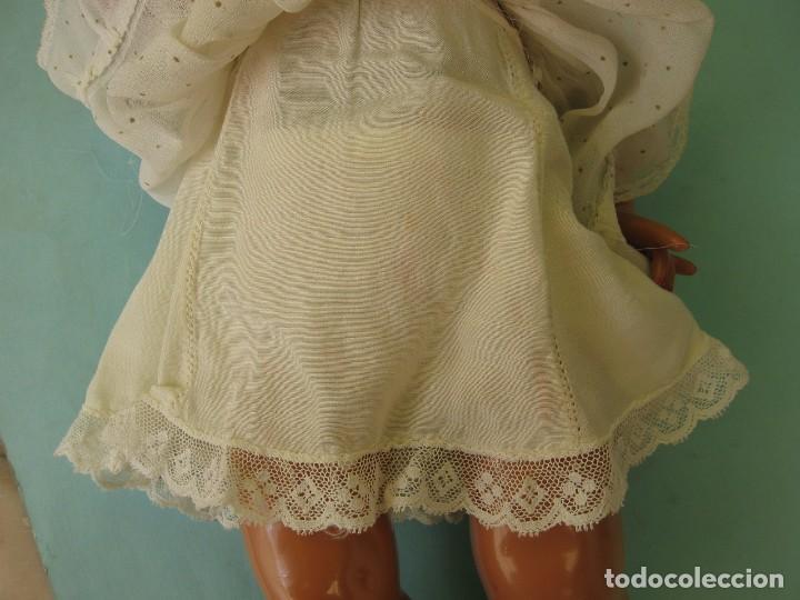 Muñeca Gisela: Muñeca Antigua Carton Piedra Gisela marcada en la nuca Ropa y Zapatos originales - Foto 21 - 142460774