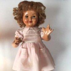 Muñeca Gisela - Preciosa muñeca Gisela de las primeras marcadas 1944,cabello mohair de Carmen Cervera Giralt. - 143287750