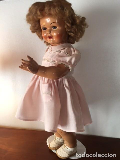 Muñeca Gisela: Preciosa muñeca Gisela de las primeras marcadas 1944,cabello mohair de Carmen Cervera Giralt. - Foto 3 - 143287750