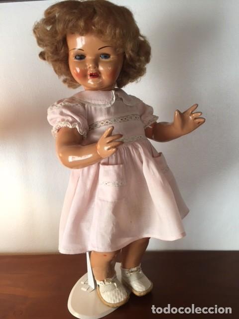 Muñeca Gisela: Preciosa muñeca Gisela de las primeras marcadas 1944,cabello mohair de Carmen Cervera Giralt. - Foto 5 - 143287750