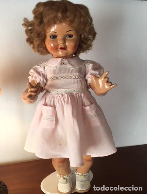 Muñeca Gisela: Preciosa muñeca Gisela de las primeras marcadas 1944,cabello mohair de Carmen Cervera Giralt. - Foto 6 - 143287750