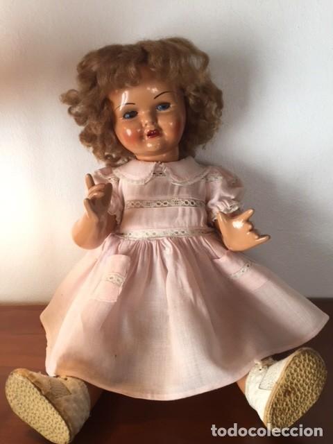 Muñeca Gisela: Preciosa muñeca Gisela de las primeras marcadas 1944,cabello mohair de Carmen Cervera Giralt. - Foto 7 - 143287750