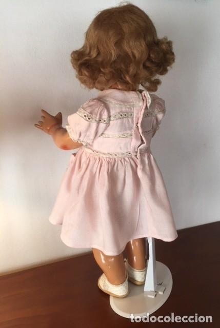 Muñeca Gisela: Preciosa muñeca Gisela de las primeras marcadas 1944,cabello mohair de Carmen Cervera Giralt. - Foto 9 - 143287750