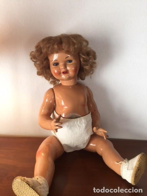 Muñeca Gisela: Preciosa muñeca Gisela de las primeras marcadas 1944,cabello mohair de Carmen Cervera Giralt. - Foto 10 - 143287750