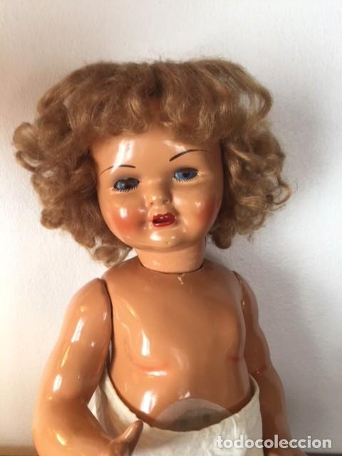 Muñeca Gisela: Preciosa muñeca Gisela de las primeras marcadas 1944,cabello mohair de Carmen Cervera Giralt. - Foto 11 - 143287750