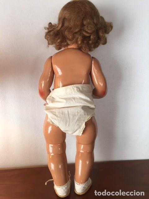 Muñeca Gisela: Preciosa muñeca Gisela de las primeras marcadas 1944,cabello mohair de Carmen Cervera Giralt. - Foto 12 - 143287750