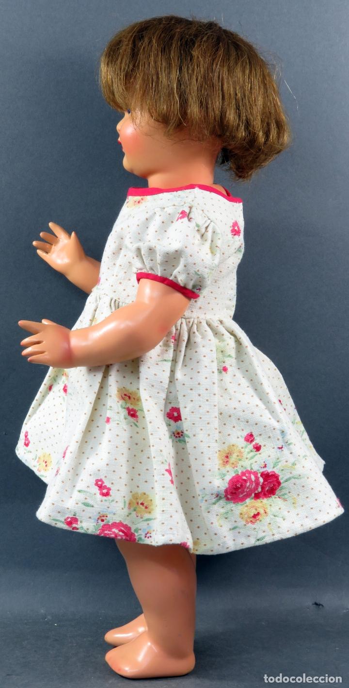 Muñeca Gisela: Gisela cartón piedra ojo durmiente peluca natural ropa original años 40 45 cm - Foto 4 - 164588398