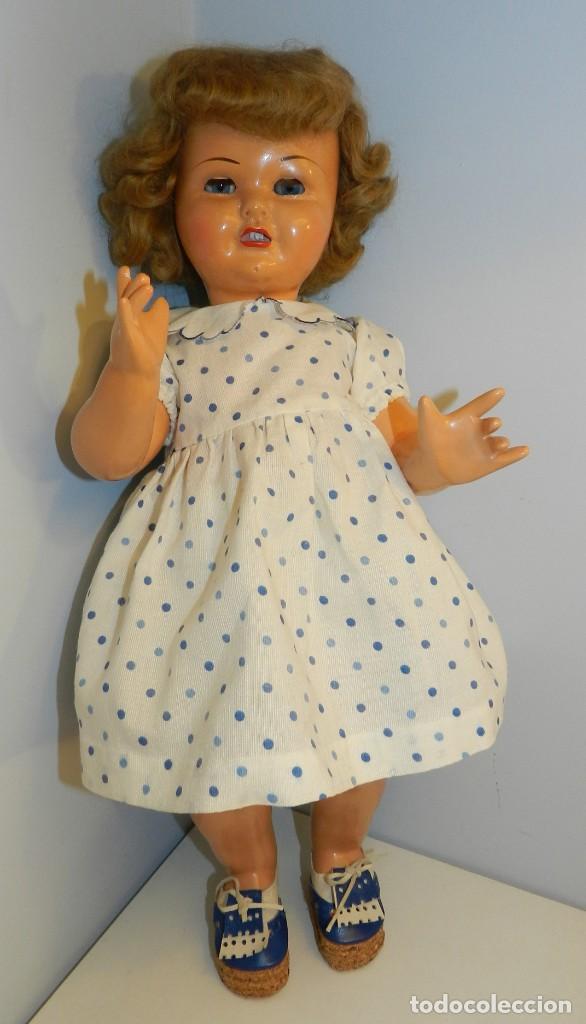 Muñeca Gisela: Muy bonita muñeca Gisela en su caja y con una peluca muy bonta de mohair-ver todas las fotos. - Foto 2 - 188594728