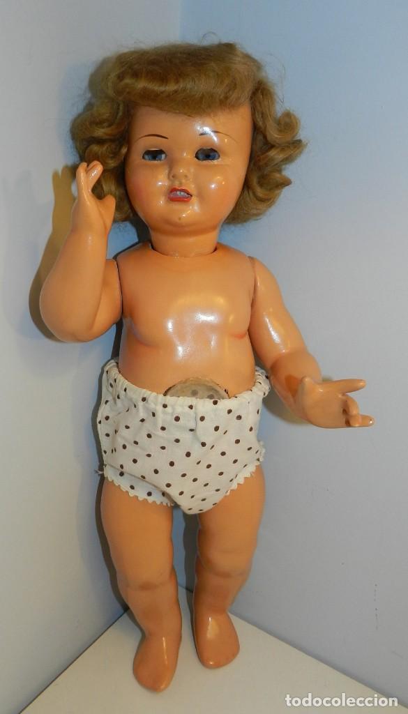 Muñeca Gisela: Muy bonita muñeca Gisela en su caja y con una peluca muy bonta de mohair-ver todas las fotos. - Foto 3 - 188594728