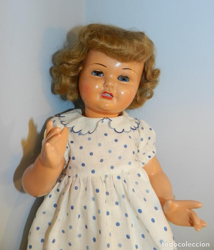 Muñeca Gisela: Muy bonita muñeca Gisela en su caja y con una peluca muy bonta de mohair-ver todas las fotos. - Foto 5 - 188594728