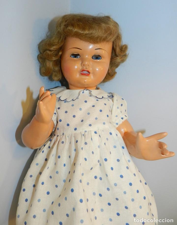 Muñeca Gisela: Muy bonita muñeca Gisela en su caja y con una peluca muy bonta de mohair-ver todas las fotos. - Foto 6 - 188594728