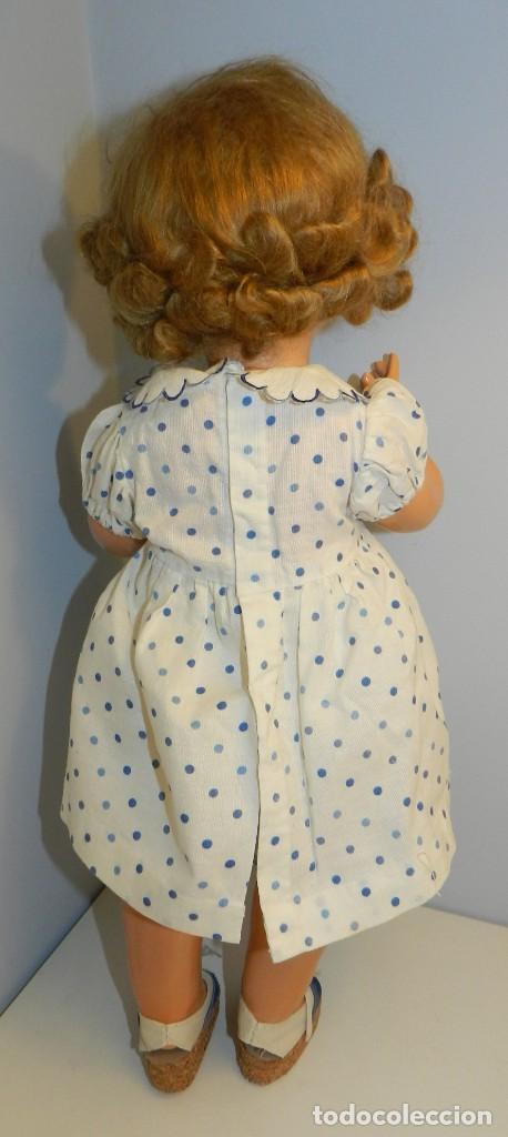 Muñeca Gisela: Muy bonita muñeca Gisela en su caja y con una peluca muy bonta de mohair-ver todas las fotos. - Foto 7 - 188594728