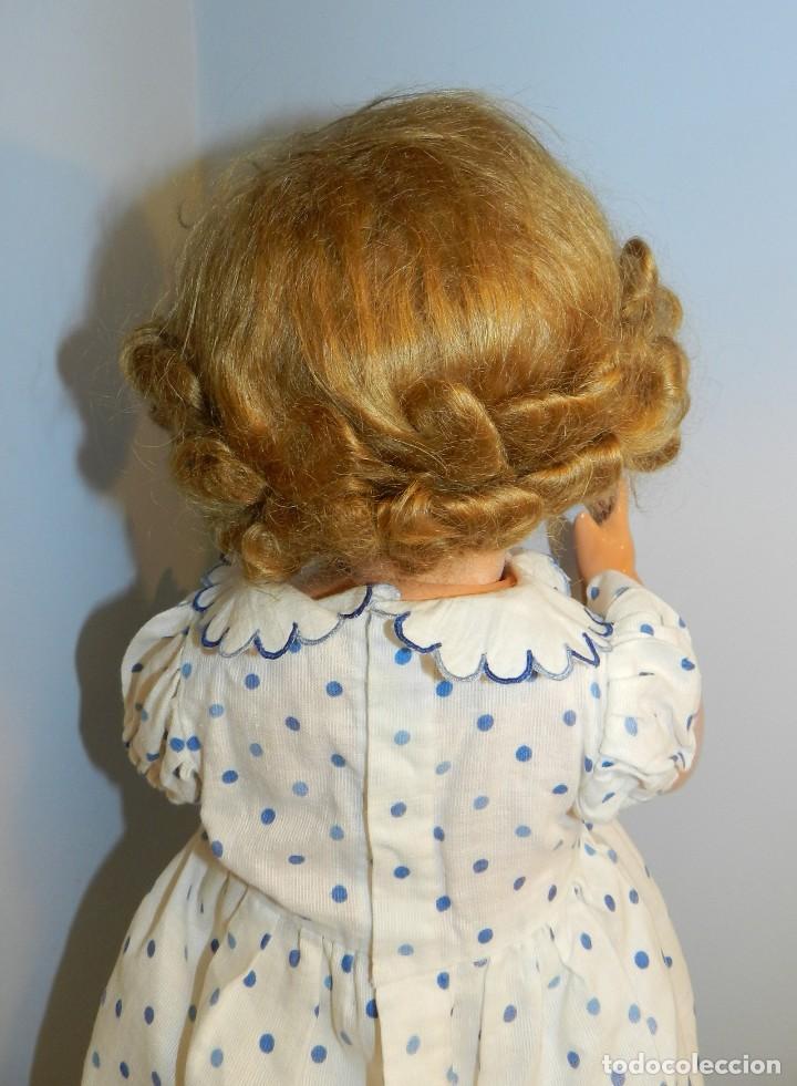 Muñeca Gisela: Muy bonita muñeca Gisela en su caja y con una peluca muy bonta de mohair-ver todas las fotos. - Foto 8 - 188594728