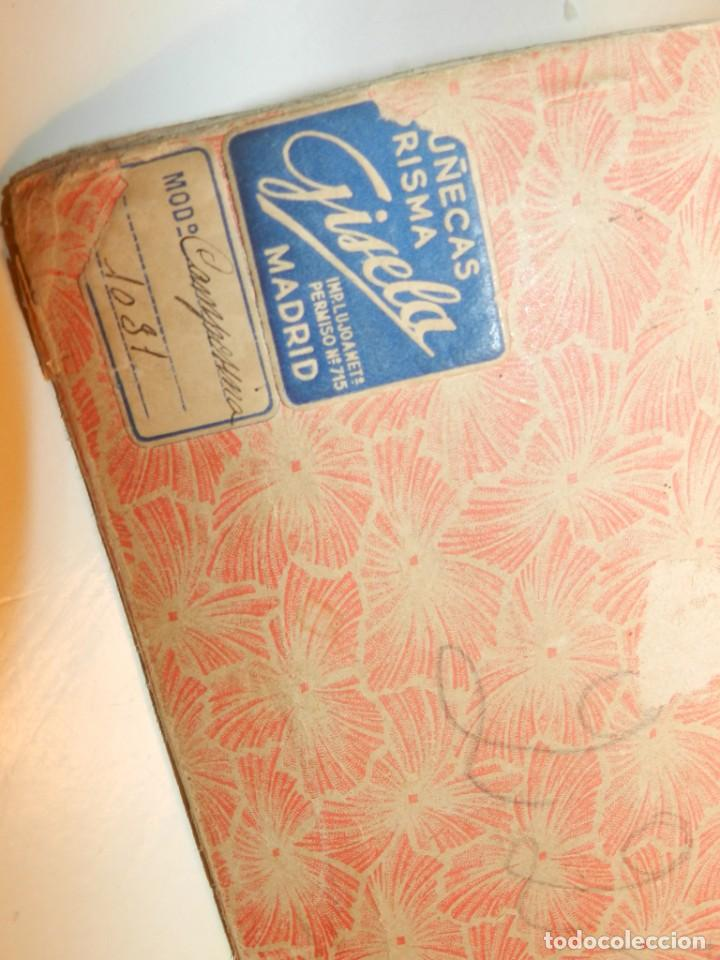 Muñeca Gisela: Muy bonita muñeca Gisela en su caja y con una peluca muy bonta de mohair-ver todas las fotos. - Foto 11 - 188594728