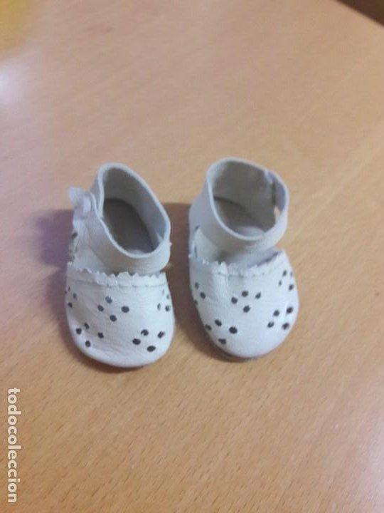 Muñeca Gisela: Zapatos de muñeca Lili hermanita de Gisela. De piel originales - Foto 2 - 193627052